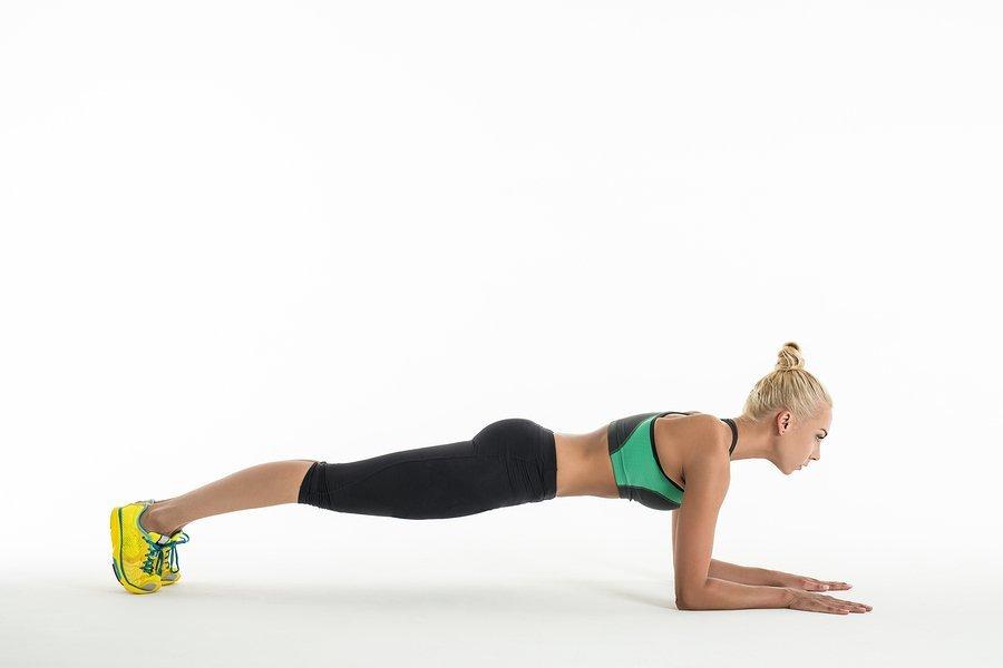 ballet plank position