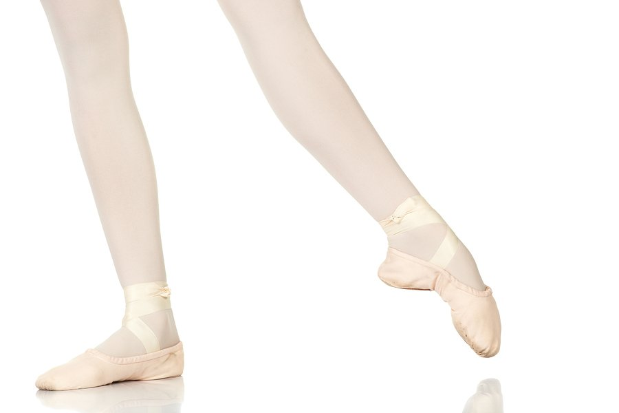 ballet feet in degage