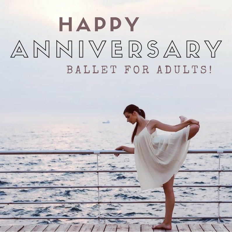 girl in ballet pose happy anniversary ballet for adults