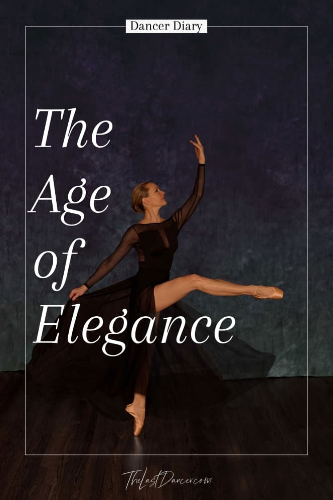 the age of elegance ballet dancer at 50 in attitude