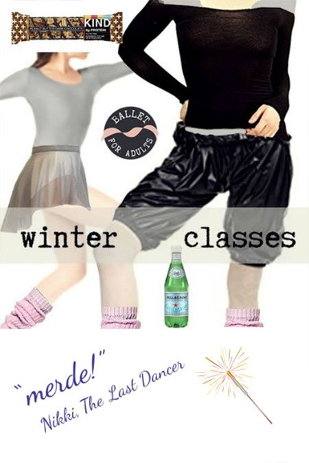 get the look for winter ballet class