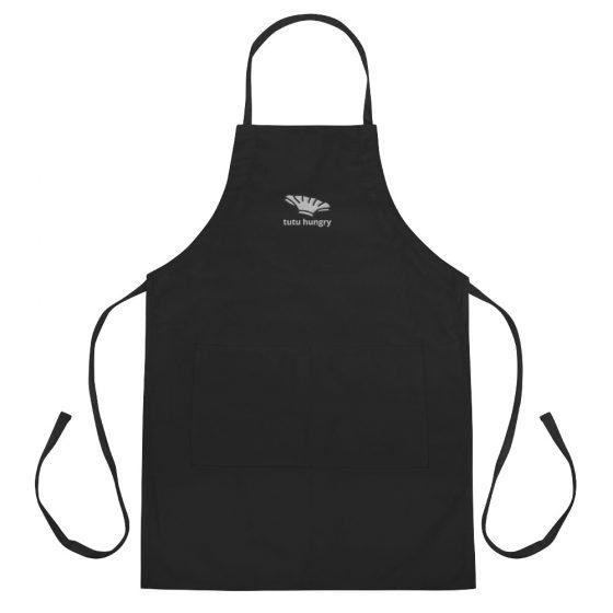 tutu hungry apron - flat