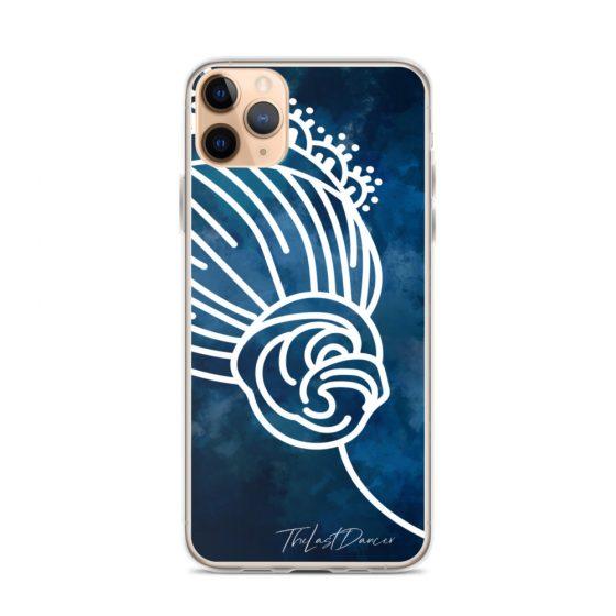 blue-phone-case-white-bun-tiara-iphone 11