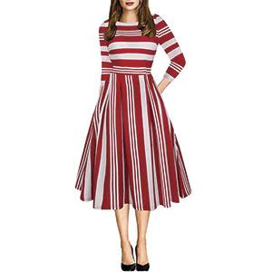 oxiuly-red-stripe-dress-ox165