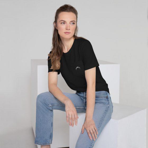 last dancer brand tee black on model