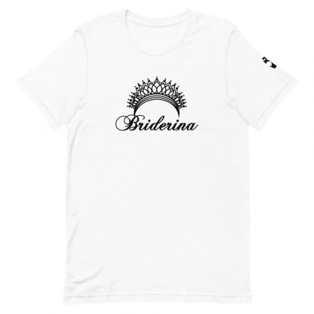 Briderina ballerina bride party t-shirt