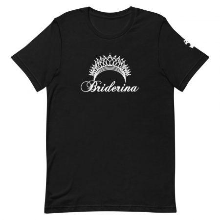 Briderina ballet bride t-shirt black