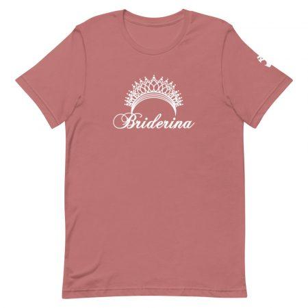 Briderina ballet bride t-shirt